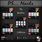 The Rainbow Collection Polishes