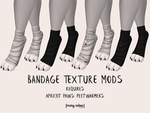 {MC} Bandage Texture Mods for Apricot Paws Peetwarmers Boxed