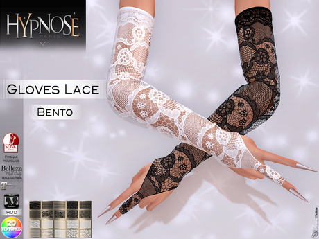 HYPNOSE - GLOVES LACE BENTO PACK