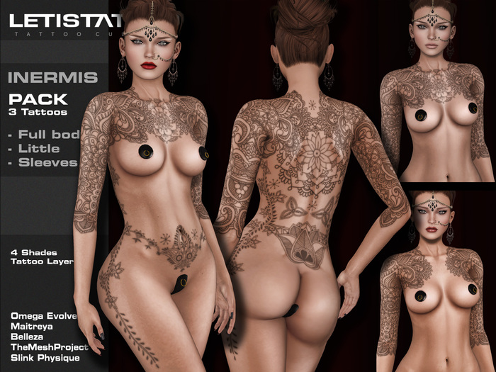 Letis Tattoo :: INERMIS Pack :: 3x2