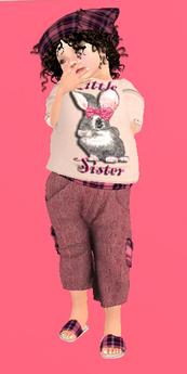 Lexxie Toddleedoo Little Sister Kid