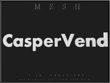 T-3D Creations [ CasperVend - A ] MESH - Full Perm (#3273)