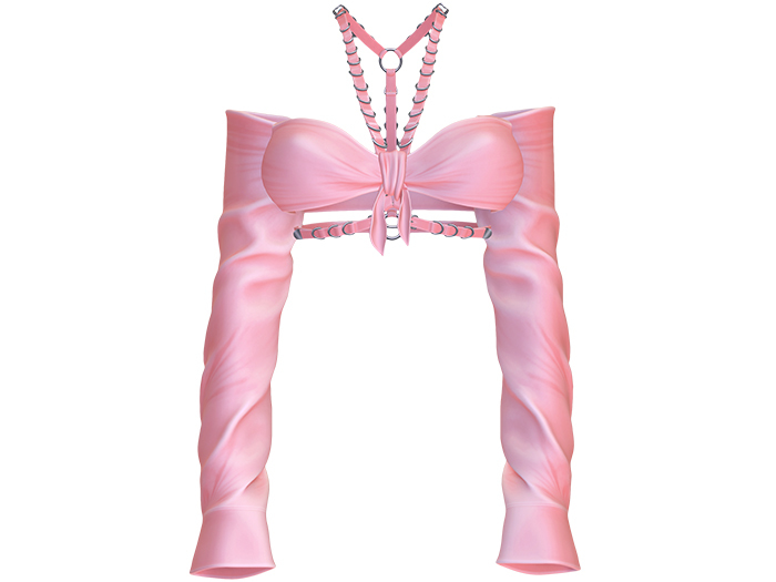 Moon Elixir - Baby Doll - Top - Pink