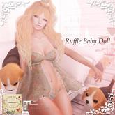 ***Ambrosia***Ruffle Baby Doll[green] ~Maitreya Lara