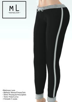 -mL- Kath joggers (Maitreya/3Belleza/2Slink/2Tonic) GIFT