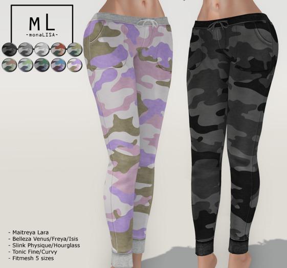 -mL- Kath joggers (Maitreya/3Belleza/2Slink/2Tonic/FT)
