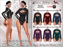 [VM] Ryna Mesh Bodysuit w/Hoodie for Belleza 3, Maitreya, Slink, Hourglass, Tonic, Classic