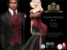 !AEC! Couple Set 4 - Dress and Tuxedo - TRANSFER ONLY