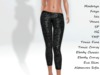 ~PP~ Shimmer Sequin Tights - Licorice
