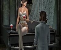 Jess Pose Couple Piano
