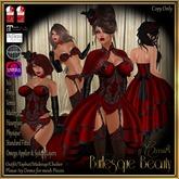 CB~Burlesque Beauty Red (box)