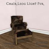 **Mistique** Chair Leog Light Fur (wear me)