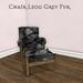 m  chair grey furad