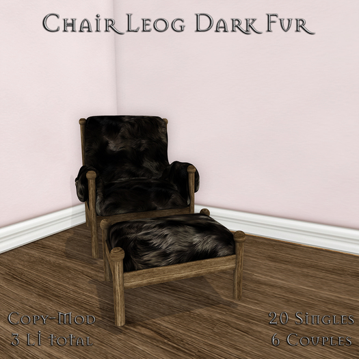 **Mistique** Chair leog Dark Fur (wear me)