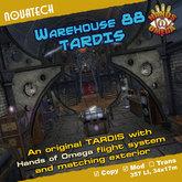 Warehouse 88 Tardis - Hands of Omega (HoO)