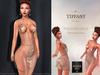 Td yolanda gold mesh dress   16   models hud