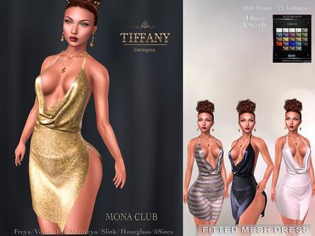 ::TD:: Mona Club Mesh Dress ~ 23 Models HUD