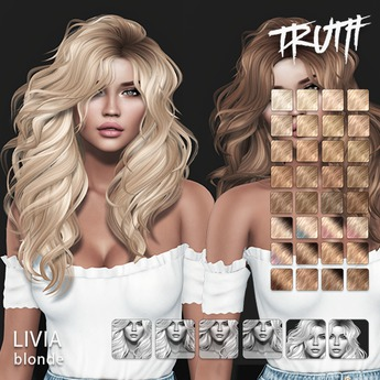 TRUTH Livia (Fitted Mesh Hair) - Blonde