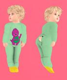 Lexxie Onsie with Flap Open infant Barney