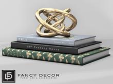 Fancy Decor: Watson Stack of Books