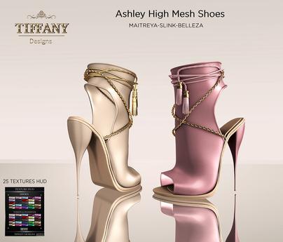 ::TD:: Ashley Mesh Shoes