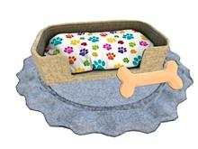 { KoolKatz Kreation } Dog Pet Bed - MEDIUM SIZE (boxed)