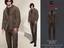 A&D Clothing - Suit -St Tropez- Walnut