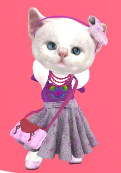 Lexxie Dinkies Purple Dress Set 2