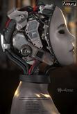 AZOURY - Nicodeme Robotic Head