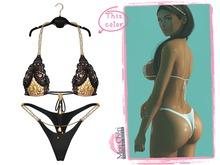 *Mon Cheri* Soraya Bikini - Black