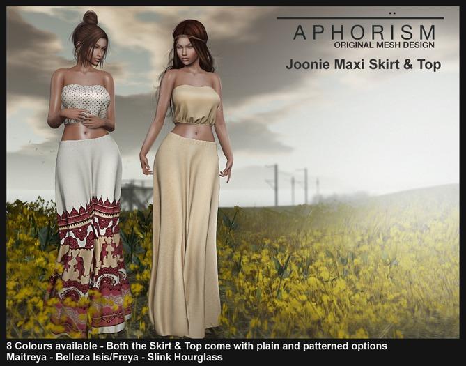 !APHORISM! Joonie Maxi Skirt/Top DEMO