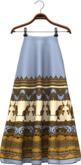 !APHORISM! Joonie Maxi Skirt Blue