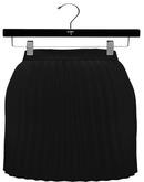 NYU - Accordion Pleated Skirt, Black