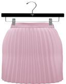 NYU - Accordion Pleated Skirt, Pink