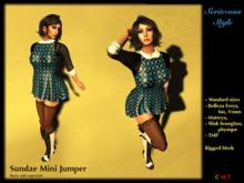 SS171119 Sundae Mini jumper - blue