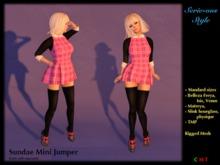 SS171119 Sundae Mini jumper - pink