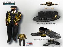 Rossanno Black Gold -Baroque Suit