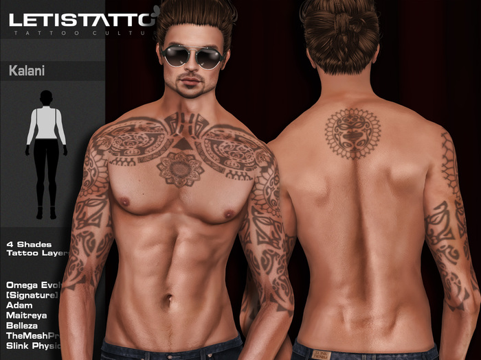 Letis Tattoo :: Kalani :: Tattoo & Omega Legacy Signature and more Appliers