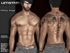 Letis Tattoo :: Infinity Angel :: Tattoos Bakes On Mesh & Legacy Signature and more Appliers