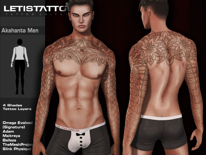 Letis Tattoo :: Akantha men :: Tattoo & Appliers