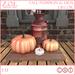 Z.O.E. Fall Pumpkin & Urn Decor