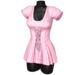 Sweet Thing. Elisa Corset Dress - Pink (Maitreya, Hourglass, Isis, Freya)