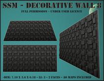 SSM - Decorative Wall 8