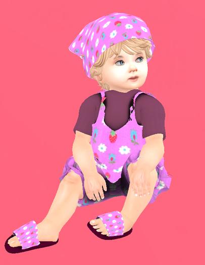 Lexxie TOTSIPOP! Flowers Jumper BABY