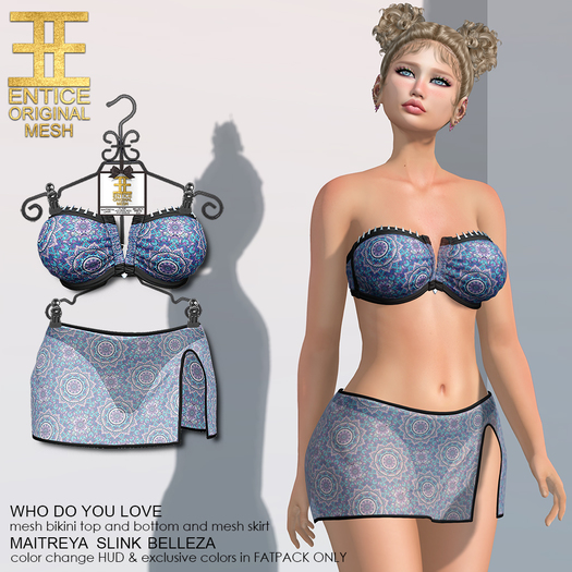 Entice - Who Do You Love Bikini - Mandala