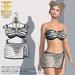 Entice - Who Do You Love Bikini - Zebra