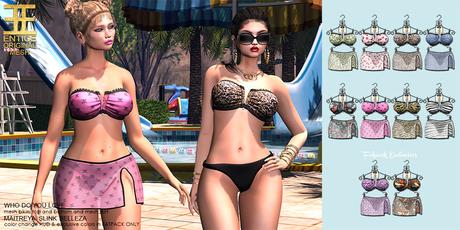 Entice - Who Do You Love Bikini Fatpack