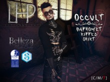 [LHP] OCCULT - BAPHOMET RIPPED SHIRT [Add/Wear]