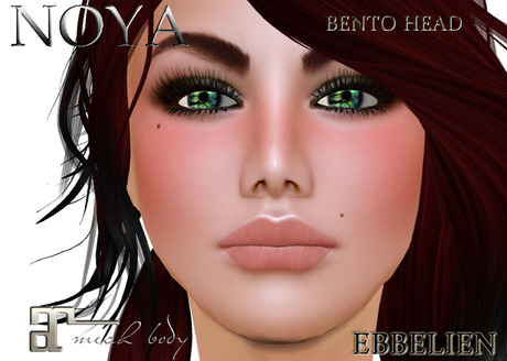 **NOYA**- EBBELIEN Bento Head- incl Maitr. applier & Face Hud