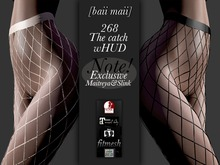 baii maii 268 The catch wHUD EXCLUSIVE Maitreya Slink Net Pantyhose Mesh Stockings Lingerie Clothing Woman's